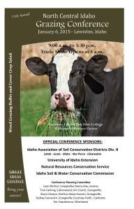 Grazing Conf Brochure - front